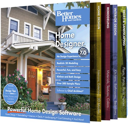 Better Homes and Gardens Home Designer 70 OLD VERSION